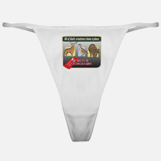 All of God's Creatures Classic Thong
