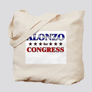 ALONZO for congress Tote Bag