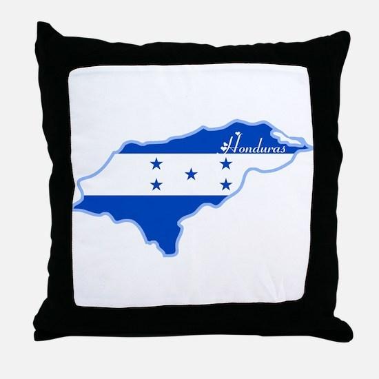 Cool Honduras Throw Pillow