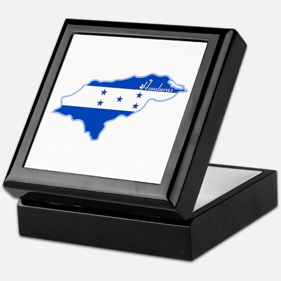 Cool Honduras Keepsake Box