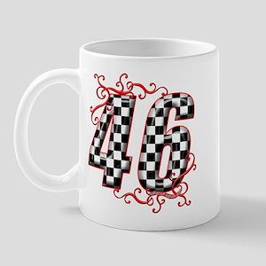 Race Car #46 Mug