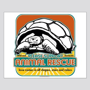 Animal Rescue Turtle Small Poster