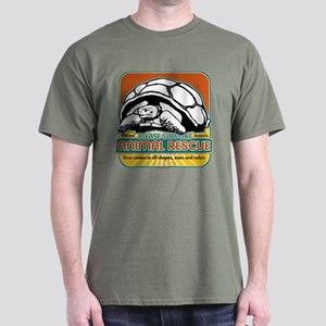 Animal Rescue Turtle Dark T-Shirt