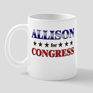 ALLISON for congress Mug