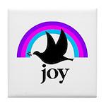 Doves Of Joy Tile Coaster