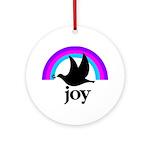 Doves Of Joy Ornament (Round)