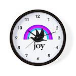 Doves Of Joy Wall Clock