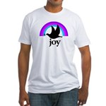 Doves Of Joy Fitted T-Shirt