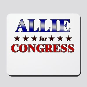 ALLIE for congress Mousepad