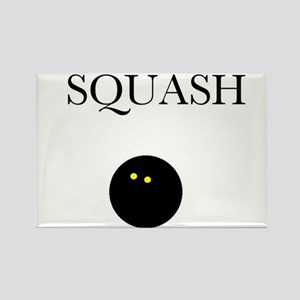 Squash Rectangle Magnet