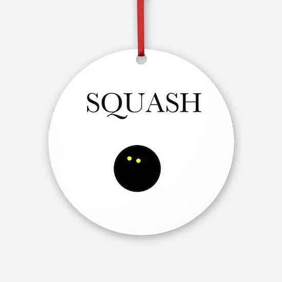 Squash Ornament (Round)