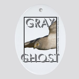 Northern Harrier Oval Ornament