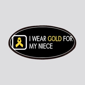 Childhood Cancer: Gold For My Niece Patch