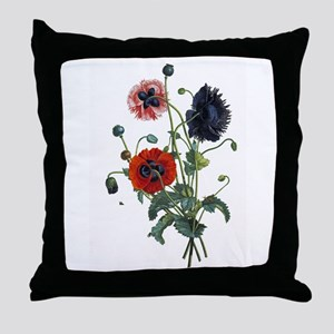 Poppy Art Throw Pillow