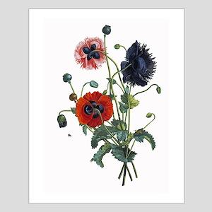 Poppy Art Small Poster