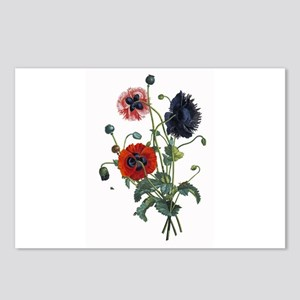 Poppy Art Postcards (Package of 8)