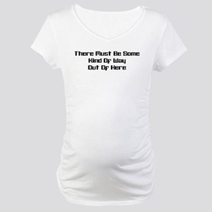 Out of Here Maternity T-Shirt
