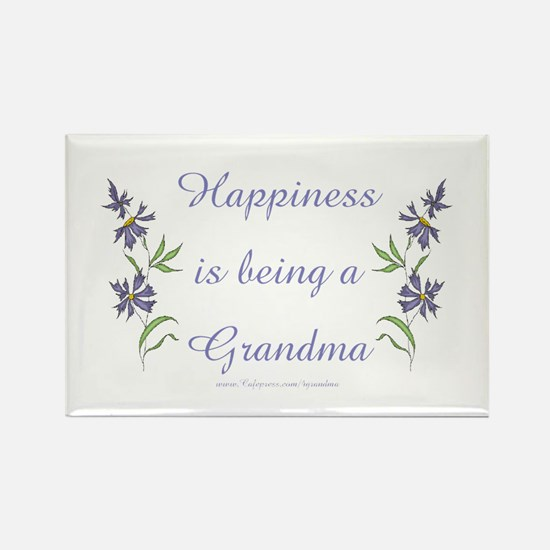 Happy Grandma Rectangle Magnet
