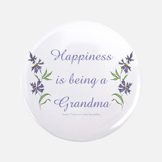 "Happy Grandma 3.5"" Button"