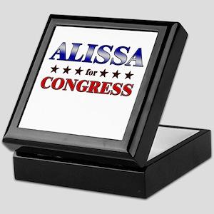 ALISSA for congress Keepsake Box