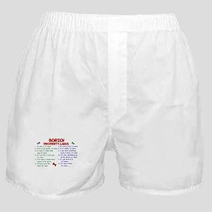 Borzoi Property Laws 2 Boxer Shorts
