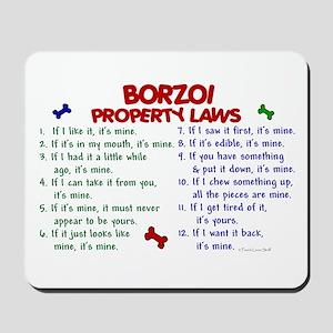 Borzoi Property Laws 2 Mousepad