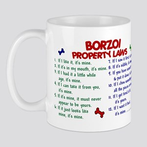 Borzoi Property Laws 2 Mug