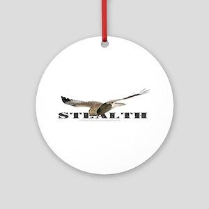 Stealth Harrier Ornament (Round)