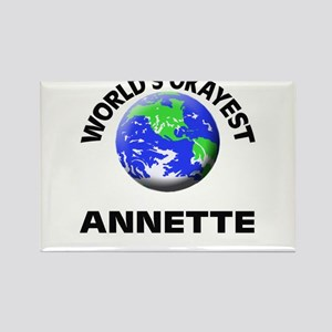 World's Okayest Annette Magnets
