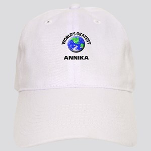 World's Okayest Annika Cap