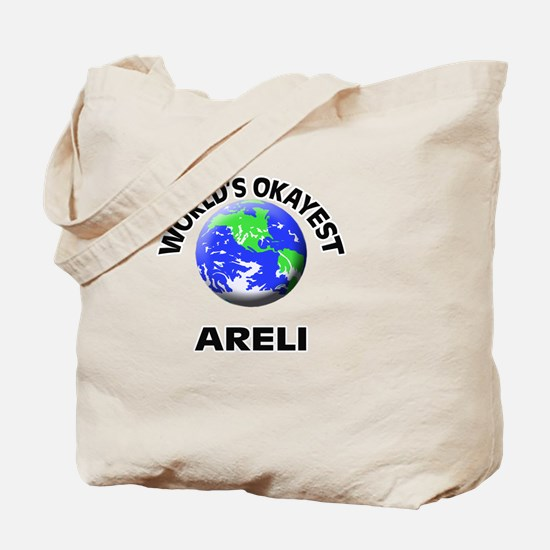 World's Okayest Areli Tote Bag