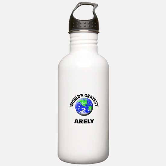 World's Okayest Arely Water Bottle