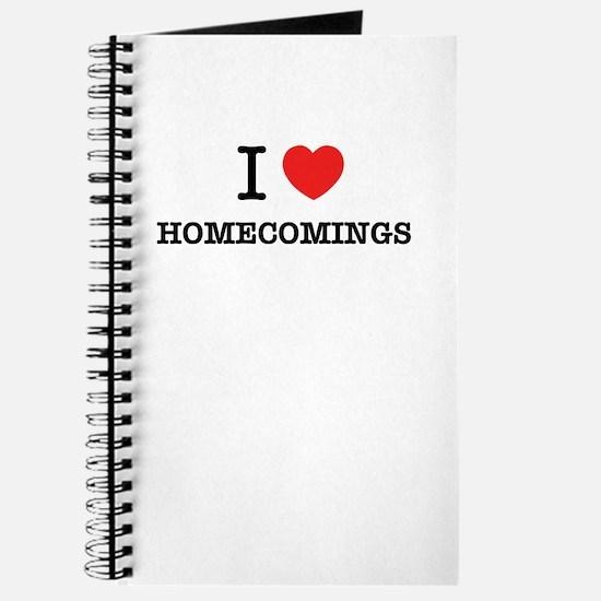 I Love HOMECOMINGS Journal