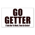 Go Getter Sticker