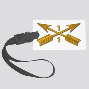 1st Bn 1st SFG Branch wo Txt Large Luggage Tag