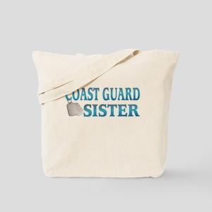 coast guard sister Tote Bag