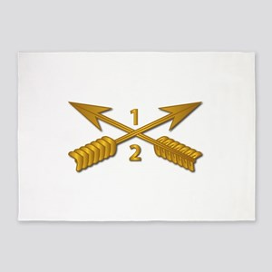 2nd Bn 1st SFG Branch wo Txt 5'x7'Area Rug