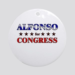 ALFONSO for congress Ornament (Round)