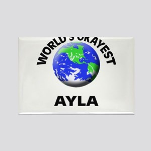 World's Okayest Ayla Magnets