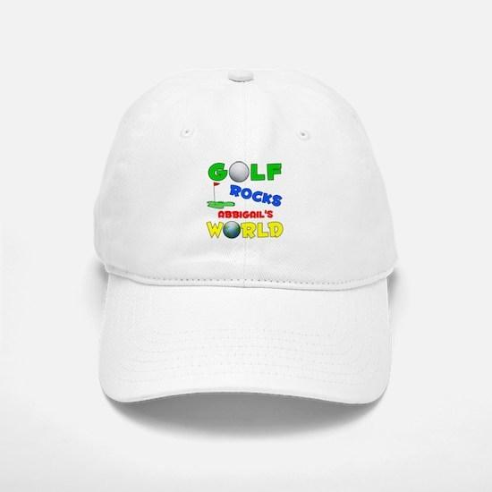 Golf Rocks Abbigail's World - Baseball Baseball Cap
