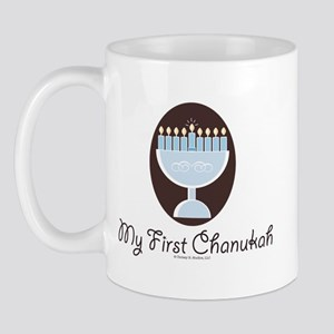 My First Chanukah Hanukkah Mug