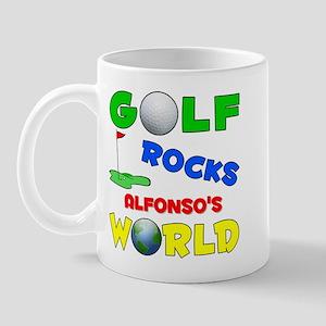 Golf Rocks Alfonso's World - Mug