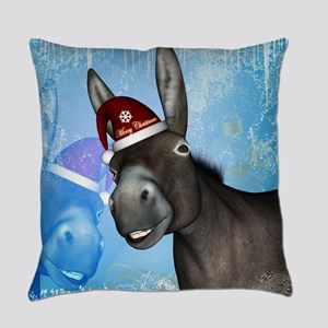 Funny christmas donkey with christmas hat Everyday