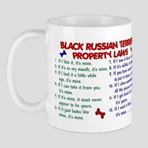 Black Russian Terrier Property Laws 2 Mug