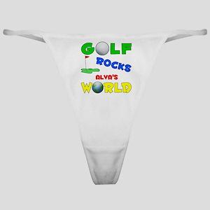 Golf Rocks Alva's World - Classic Thong