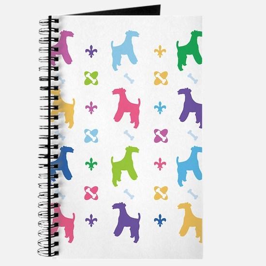 Wire Fox Terrier Designer Journal