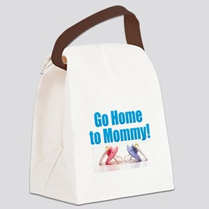 Go Home Canvas Lunch Bag