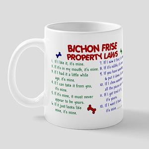 Bichon Frise Property Laws 2 Mug