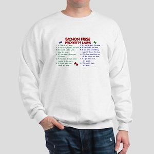 Bichon Frise Property Laws 2 Sweatshirt