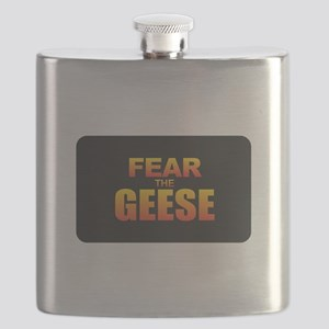 Fear the Geese Flask